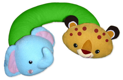 Fisher Price Nap Buddy resekudde