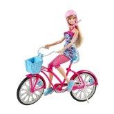 Barbie Docka och Cykel