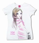 TOPModel T-Shirt, Hayden Vit