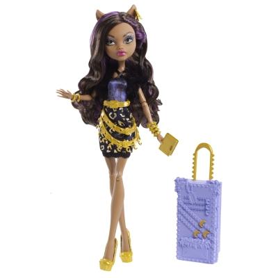 Monster High Travel Doll Clawdeen Wolf