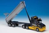 Scania tipplastbil semitrailer