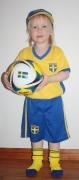 Fotbollsset Sverige 128cl