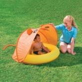 Barnpool med UV skydd, Orange/Gul