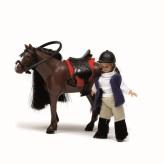 Lundby småland häst + flicka