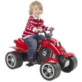 Falk Fyrhjuling Pirate, Röd