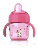 Philips Avent Magic pipmugg 200ml 6m+, Rosa