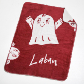 Acrylfilt Laban, Röd