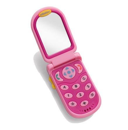 Flip & Peek Fun Phone, Rosa