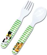 Bamse bestick gaffel & sked