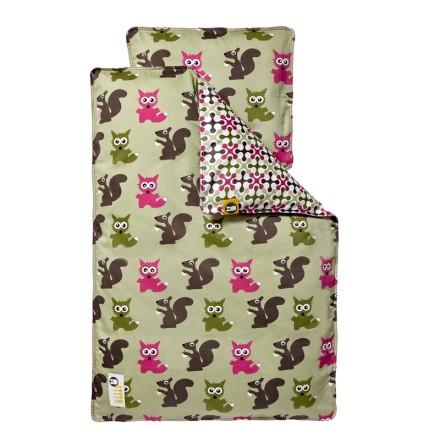 Silly U Forest Bäddset Baby pink vagn/vagga