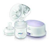 Philips Avent Elektrisk NATURAL Comfort Bröstpump 1x125ml fl BPA fri (PP)