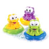 Floatin' Frog Bath Time Symphony