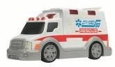 Ambulans med ljus och ljud