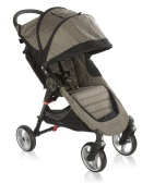 Baby Jogger City Mini Singel 4-Hjul, Sand/Black