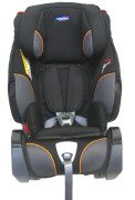 Klippan TrioFix Recline inkl. bas, Black & Orange