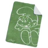 Acrylfilt Smurf, Grön