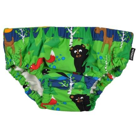 Paros Swim Diaper, Green