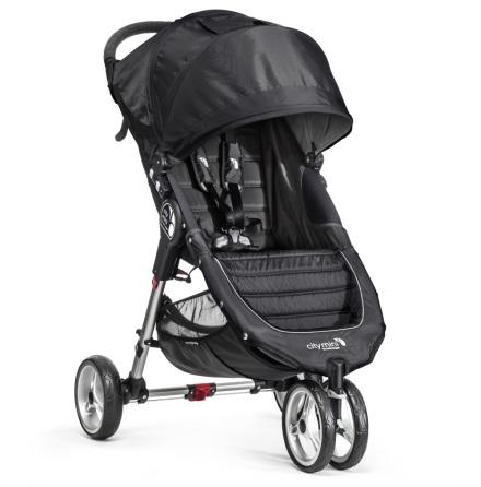 Baby Jogger City Mini Singel, Svart/Grå