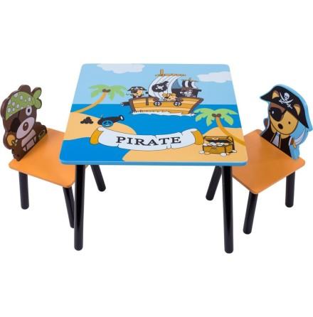 Bieco Bord med stolar Pirat
