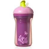 Tommee Tippee Explora Active Straw 300ml, Lila