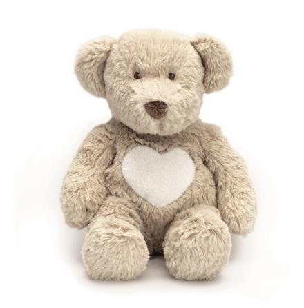 Teddy cream nalle, liten grå