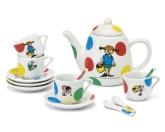 Pippi kaffeservis porslin