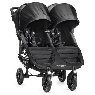 Baby Jogger City Mini GT Double, Black/Black