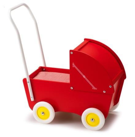 Sufflettvagn, Röd