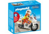 Playmobil Ambulansmotorcykel med blåljus 5544