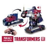 Transformers Optimus Prime Radiostyrd Robotbil