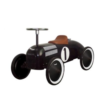 Image Toys Gåbil i metall med plastsäte och tanklock, Svart
