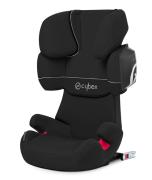Cybex Solution X2-fix Silver Line, Pure Black