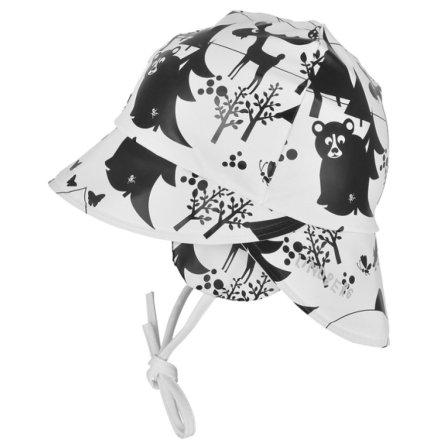 Timsjön Rain Hat, Black/White