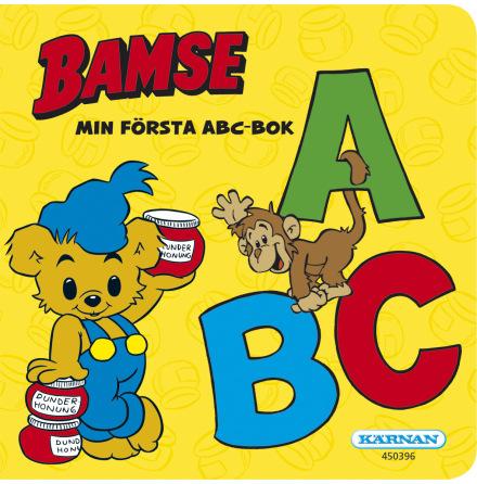 Bamse Min Första ABC-Bok