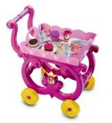 Disney Princess Te Vagn med tillbehör