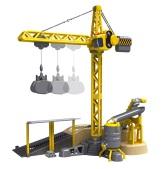 Silverlit Crane Deluxe Set