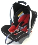 Klippan DinoFix, Black & Dark Red