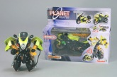 Planet Fighter Robotmotorcykel