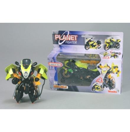 Planet Fighter Robotmotorcykel