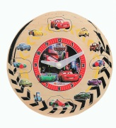 Cars 2 Teaching Clock