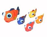 Badleksak Fiskstim 5-delar
