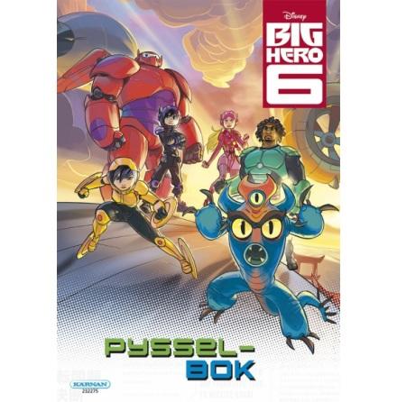 Pysselbok Big Hero 6