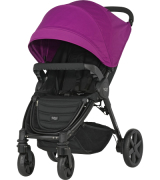 Britax B-AGILE 4 Plus, Cool Berry