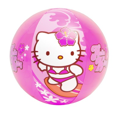 Hello Kitty Strandboll