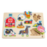 Farm Animals Peg Puzzle