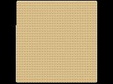 Lego Classic Sandfärgad Basplatta