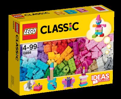 Lego Classic Fantasikomplement, Ljusa färger