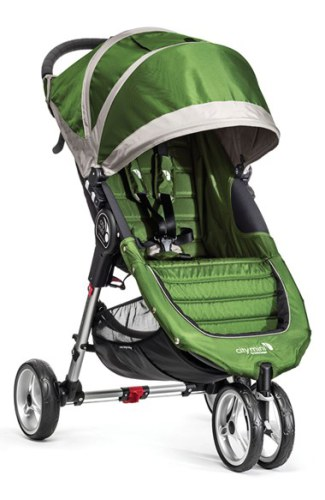 Baby Jogger City Mini Singel, Lime/Gray