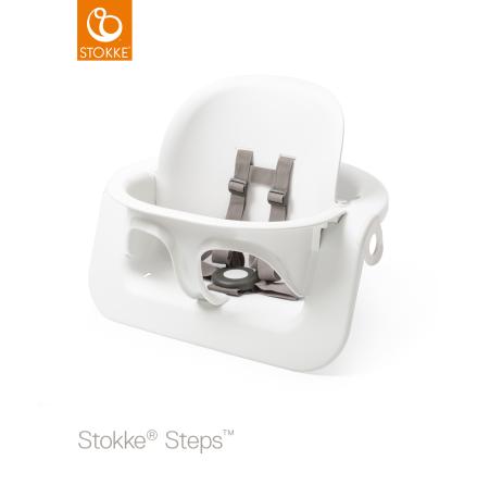 Stokke Steps Baby Set barnsits, White