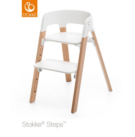 Stokke Steps Chair matstol, Natural